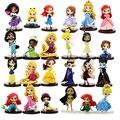 3 шт./лот, Q Posket фигурки, принцесса Ариель, Русалочка, Белоснежка, запутанная Рапунцель, Belle, мулань, Моана, Спящая красавица, модель игрушек