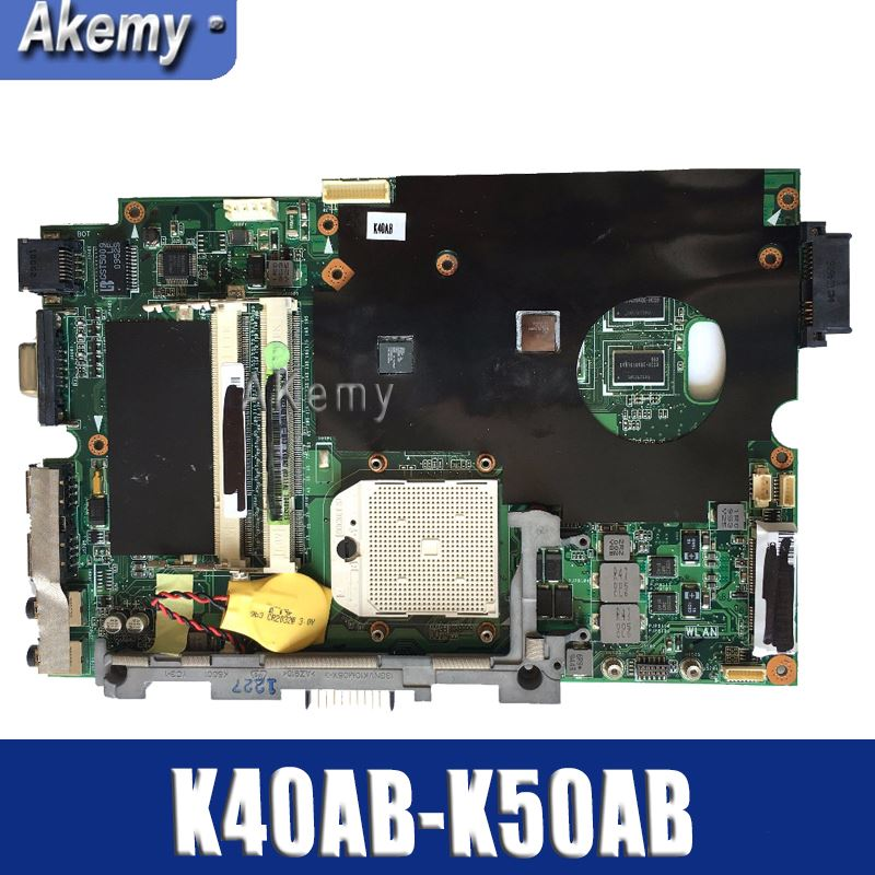 Amazoon  K40AB Laptop motherboard for ASUS K40AB K40AD K40AF K50AB K50AD K50AF K40IJ K5IJ K40 K50 Test original mainboardAmazoon  K40AB Laptop motherboard for ASUS K40AB K40AD K40AF K50AB K50AD K50AF K40IJ K5IJ K40 K50 Test original mainboard