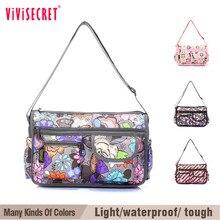 Women Messenger font b Bag b font Nylon Waterproof Crossbody font b Bags b font For