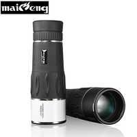 High power 35X95 Monocular Eyepiece Telescope monoculo Long range for Camping Hunting Lll Night Vision Zoom binoculars scopes
