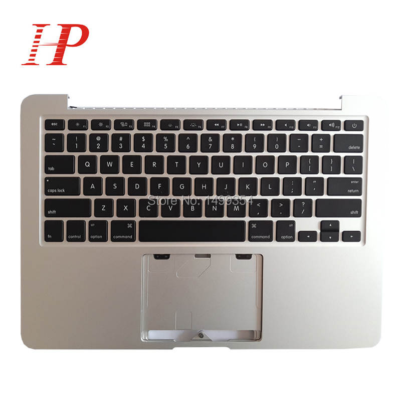 Original 2013 2014 Year A1502 Topcase With Keyboard For Apple Macbook Pro 13'' Retina A1502 Palm Rest With Keyboard US/Spain/UK original for macbook pro retina 13 topcase palmrest with keyboard uk version a1502 2013 2014