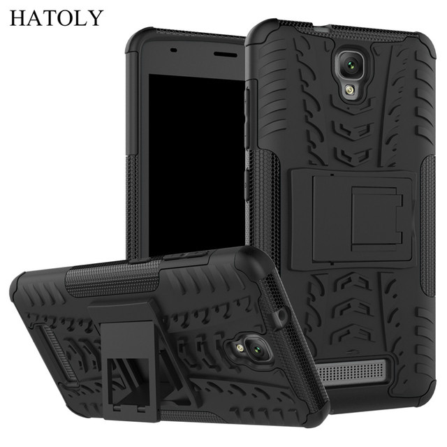 HATOLY For Cover ZTE Blade L5 Plus Case Armor Shockproof Silicone Hard Plastic Case For ZTE Blade L5 with Holder Stand ZTE L5]