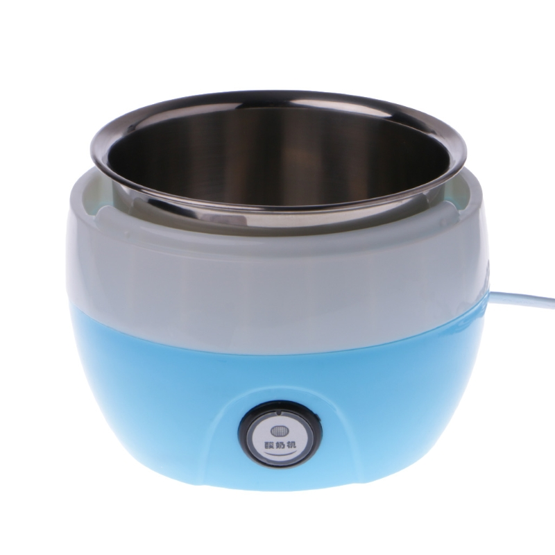 Automatic Yogurt Maker Stainless Steel Machine Liner Making DIY Tool Container