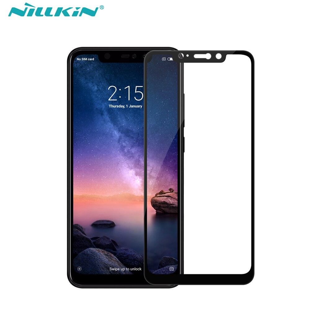 Volle Abdeckung Gehärtetem Glas Screen Protector für xiaomi redmi note 6 pro Globale version NILLKIN Erstaunlich CP + Anti-Explosion glas