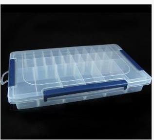 Nouveau 28 grille en plastique transparent bijoux outils boîte ...