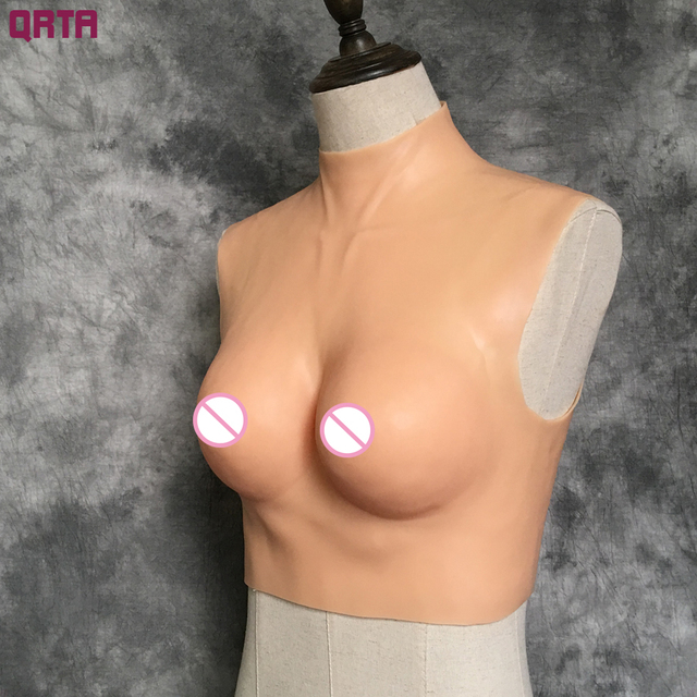 2016 Realistic Natural Feeling Big Cup Size 1.2kg Silicone Fake Breast Clothes Boob Forms Enhancer Crossdress adult sex toys