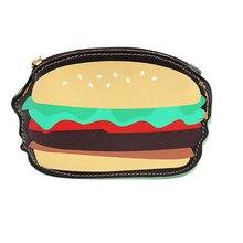 GUBINTU PU карман для гамбургера модные кошельки для монет держатели для женщин нулевой кошелек Индивидуальная сумка милый забавный Ключ Монета Чехол