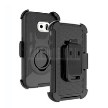 Shockproof Heavy Duty Hybird Armor Rugged Ring Holster Case Cover With Holster+Belt Clip For Samsung Galaxy S7 Edge G935