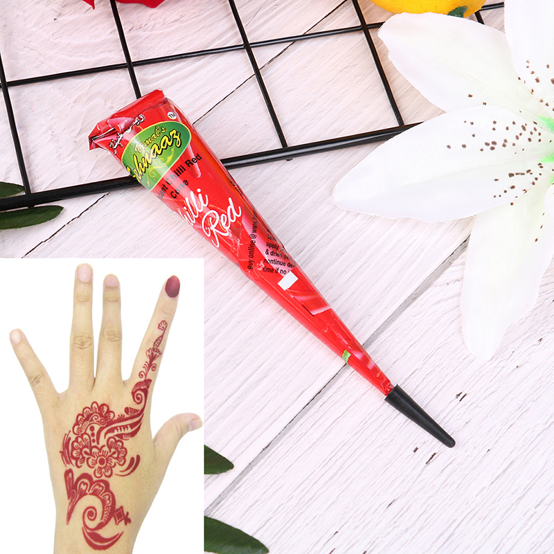 41f5a766ecec8 Hot Sale Ladies Fashion Henna Paste Cone Temporary Tattoo Makeup Tool  Ink-in Tattoo Inks from Beauty & Health on Aliexpress.com   Alibaba Group