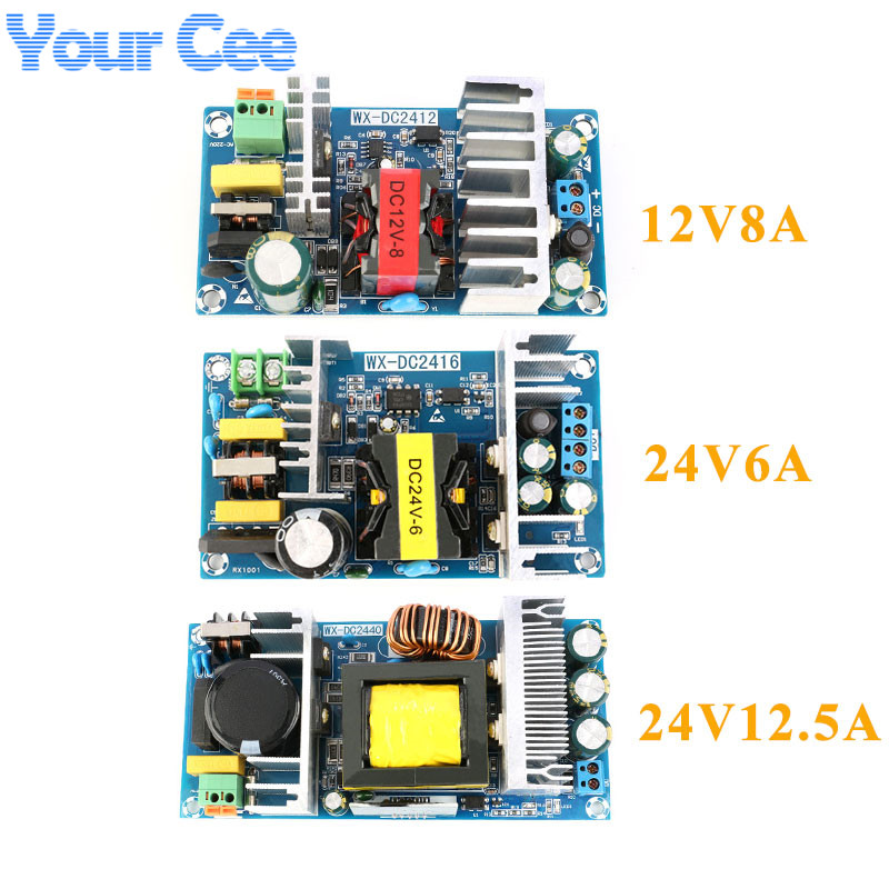 12V8A 24V6A 24V12. 5A AC-DC Isoliert Schalter Power Supply Module Buck Converter Step Down Modul 100W 150W 300W
