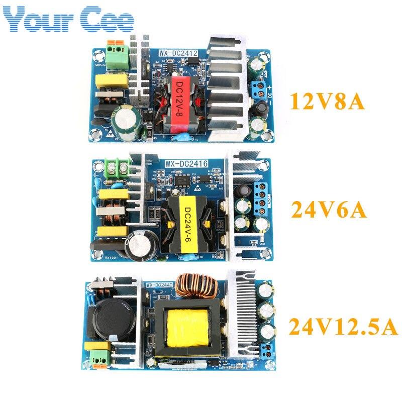 12V8A 24V6A 24V12. 5A AC-DC commutateur isolé Module d'alimentation Buck convertisseur abaisseur Module 100W 150W 300W