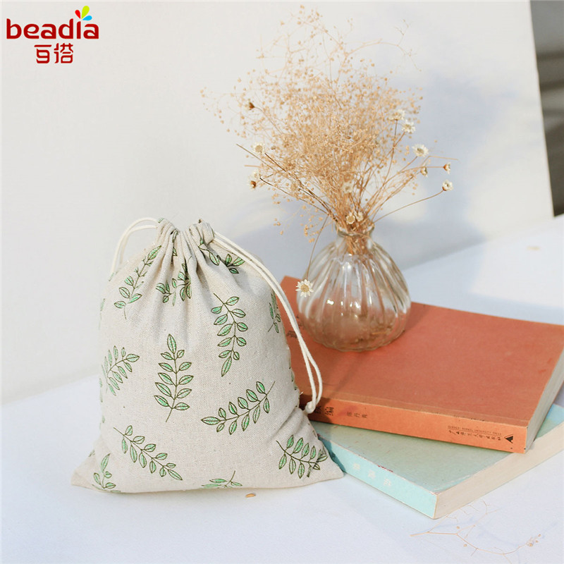 Wholesale 14x16cm 19x24cm 25x32cm Cloth Diy Handmade Cotton Sack Bag