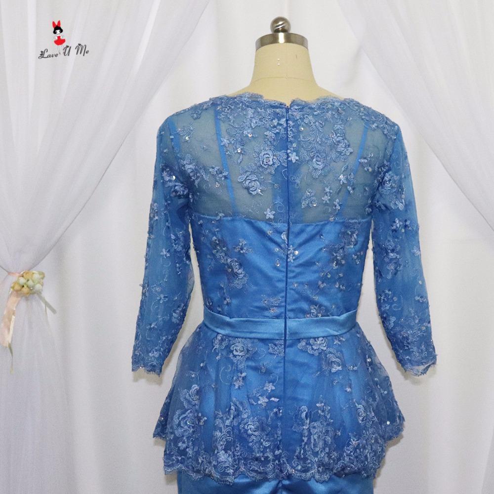 Vestido de Madrinha Navy Blue Short Mother of the Bride Dresses Plus ...