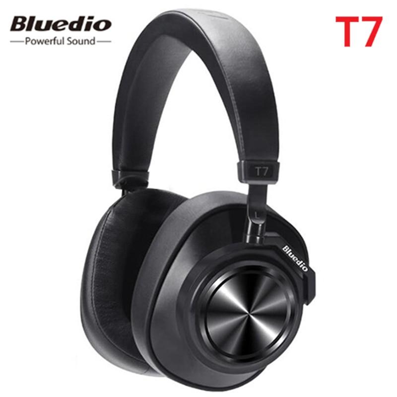Nouveau casque Bluetooth Bluedio T7 casque HiFi anti-bruit actif défini par l'utilisateur avec prise en charge de la reconnaissance faciale Amazon Web