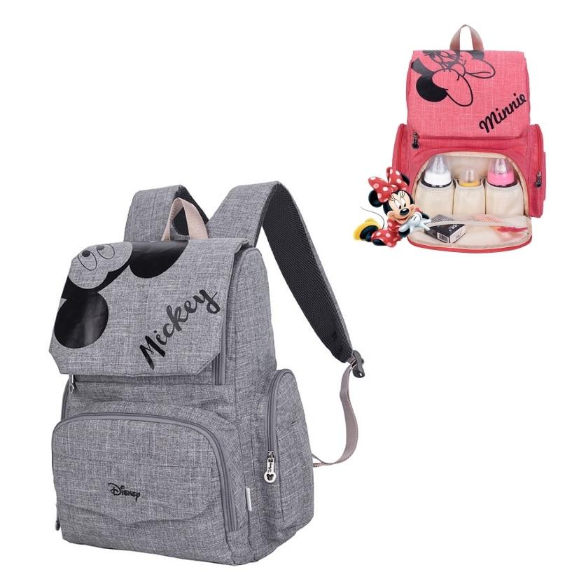 Disney Classic Mickey Minnie maman   Sac à dos pour bébé, sac à couches pour bébé, Pack voiture grande capacité, sac pour maman