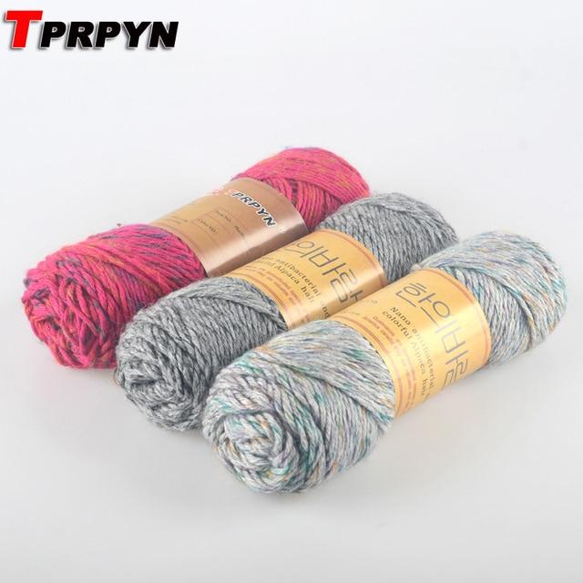 TPRPYN 400g = 4 Stücke Alpaka Material Mohair Wolle Stricken Garn ...