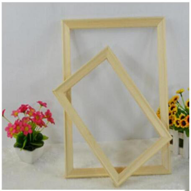 Wood frame for canvas oil painting nature wood DIY Wooden stretcher big size picture inner frame without the painting ZC285
