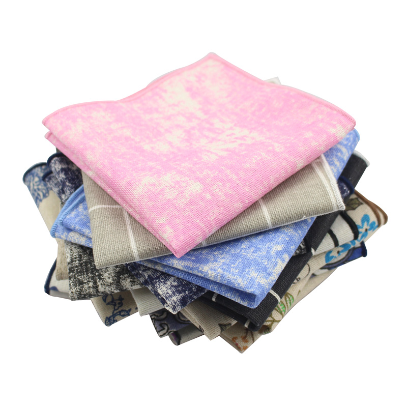 The Korean Version Of Pocket Towel Suits Men Square Chest Towel Cotton Small Towel Suit Pocket Accessories Factory Direct