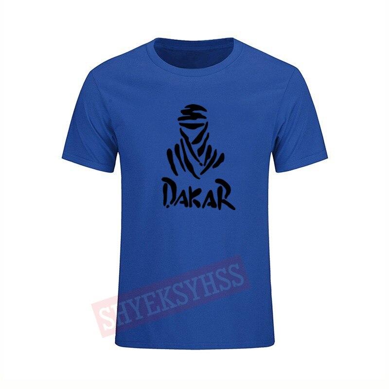Dakar Rally Logo   T     shirt   brave competition adventure racing Tshirt men's casual fashion brand   T  -  shirt   2018
