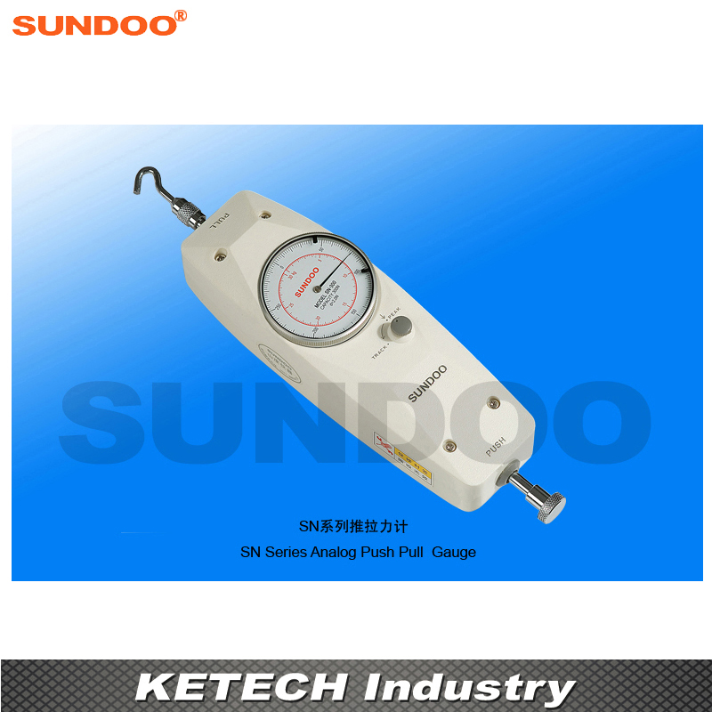 Sundoo SN-20 20N Analog Push Pull Gauge ,Analog Tension Force Meter tau 0826 dc 6v 12v24v keeping force 16n 20n pull