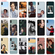 Lavaza riverdale cole sprouse Jughead Jones Hard Case for Apple iPhone 6 6s 7 8 Plus X 5 5S SE Cover for iPhone XS Max XR Cover(China)