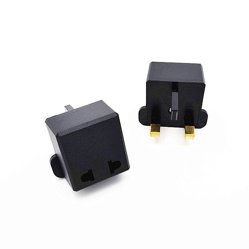 5PCS Multifunctional US to UK Plugs Adapter EU To Power Converter 2 Pin Socket Travel