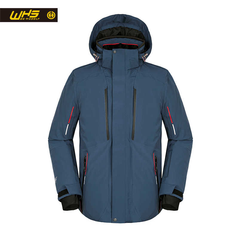 Whs 2018新しい男性屋外スキージャケット防風男性暖かいコート男性雪のジャケットティーンエイジャースリム服男性暖かいジャケット偉大な色