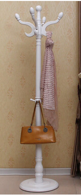 clothes tree real wood ground to hang clothes clothes - Clothes Tree