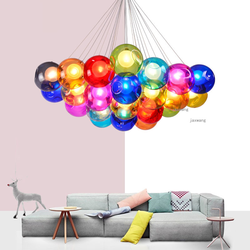 Lights & Lighting Dependable Novelty Led Light Ceiling Chandelier Chandeliers Lamp Decor Living Room Chandelier Lighting Light Fixtures Glass Lustre