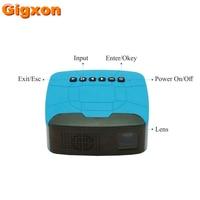 Gigxon U20 Mini Stylish Home Theater Portable LED Projector HDMI Multimedia Player Mini Projector