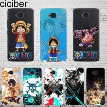 Ciciber anime uma peça luffy para bq aquaris u2 c u x5 v vs x2 x plus lite pro e5 m5.5 e4.5 m4.5 caixa do telefone macio tpu coque(China)