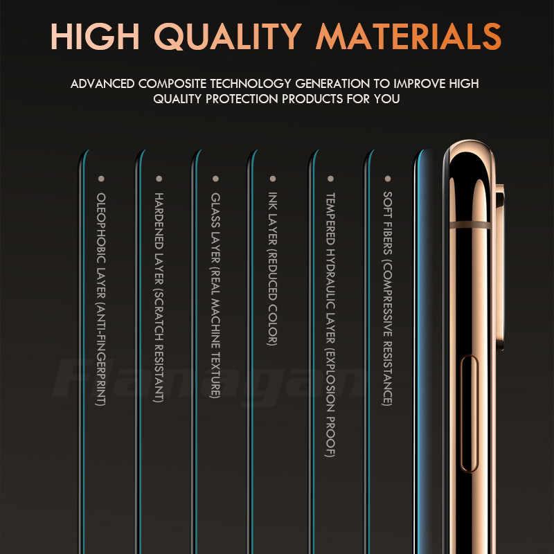 15D szkło ochronne na iPhone 6 6s 7 8 plus XR X XS szkło pełna pokrywa iPhone 11 Pro Max ochraniacz ekranu szkło hartowane