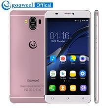 Смартфон 4 г LTE Gooweel G9 mtk6737 Quad Core 64bit 5.5 дюйма IPS Экран Android 7.0 мобильный телефон 1 ГБ + 8 ГБ 13MP + 8MP GPS сотовый телефон