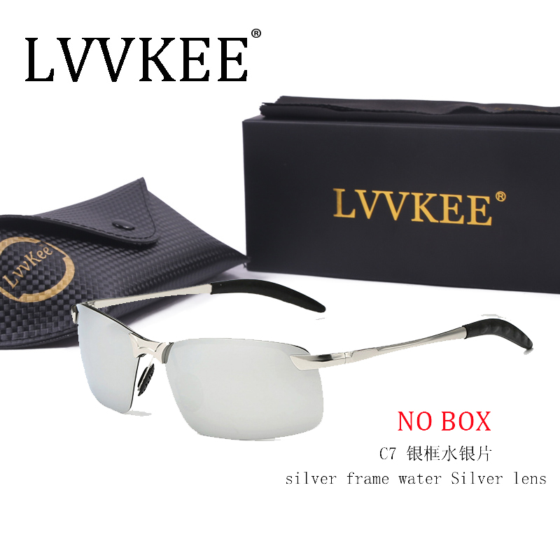2017 LVVKEE Hot Brand Designer Polarized Men Sunglasses Male Driving Rimless Sun Glases For Women Uv400 Eyewear oculos de sol