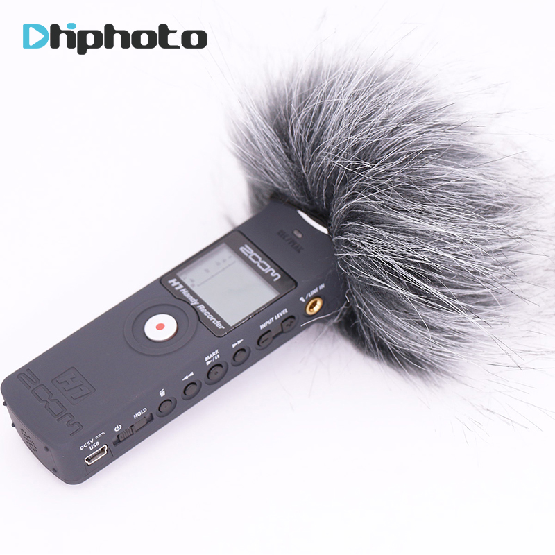 Ulanzi Microphone deadcat Outdoor Wind Cover Shield Furry Windscreen Windshield Muff For ZOOM H1 цена