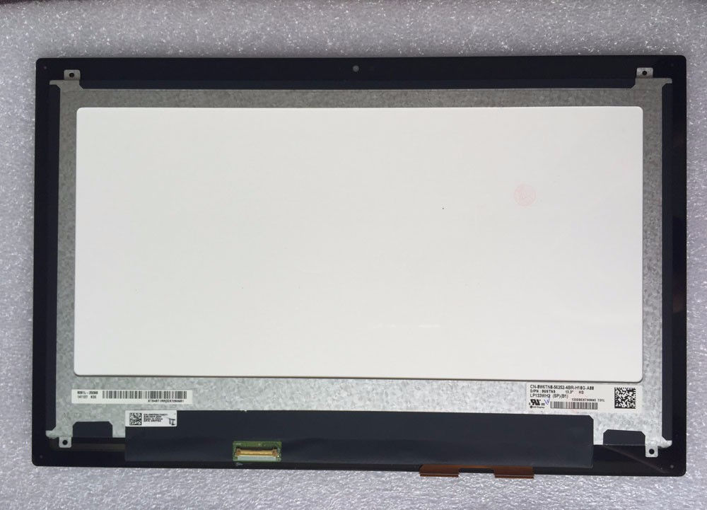 LED Screen for DELL LCD LAPTOP 0RFF64 0W6TN0 0XP2FH LP133WH2-SPB1 TOUCH 13-7347 , LP133WH2(SP)(B1) new laptop 15 6 led screen b156htn02 1 for dell latitude 3540 1920x1080