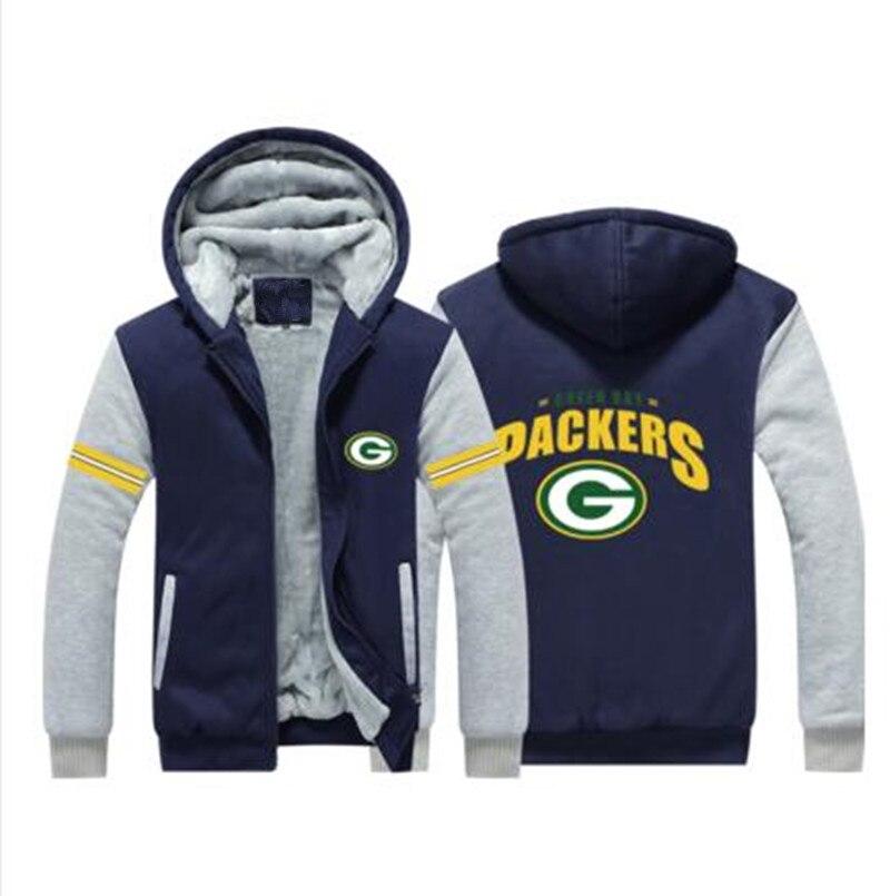 2958c86cf Dropshipping Men Women Steelers Broncos Cowboys Hoodies Zipper Sweatshirts  Jacket Printed Winter Thicken Hooded Co-in Hoodies & Sweatshirts from Men's  ...