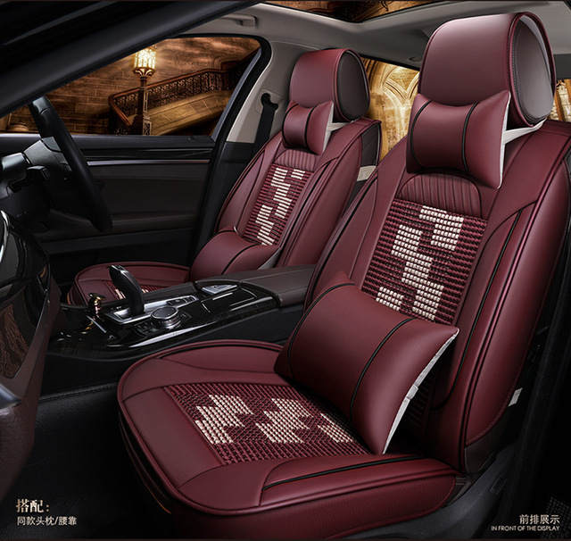 car seat covers leather cushion mats for Alfa Romeo Boxster Cayenne ...