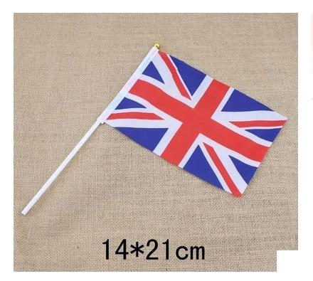 12 Stück ein Dutzend der britischen Handflaggen verblassen nicht aus - Wohnkultur - Foto 2