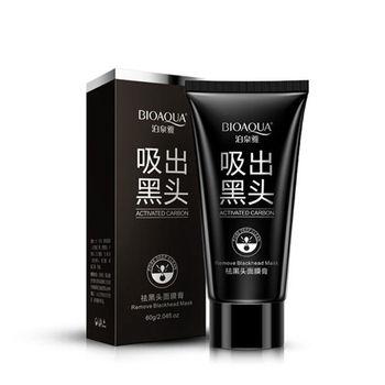 100pcs BIOAQUA Black Mask Face Care Suction Facial Mask Nose Blackhead Remover Peeling Peel Off Black Head Acne Treatments 60g