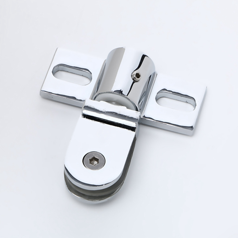 Shower Room Door Accessories Glass Door Clamp Stainless Steel Up And Down Shaft Clamp Bathroom 6-12 mm Glass Aircraft Clip