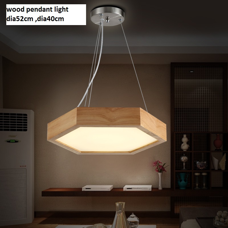 Dia40/52cm The new modern Chinese style Hexagon wood chandelier Fashion warm study  wooden bedroom led 36W pendant lamps запчасть stels nav 710d 750d 770d 790d 2014 г