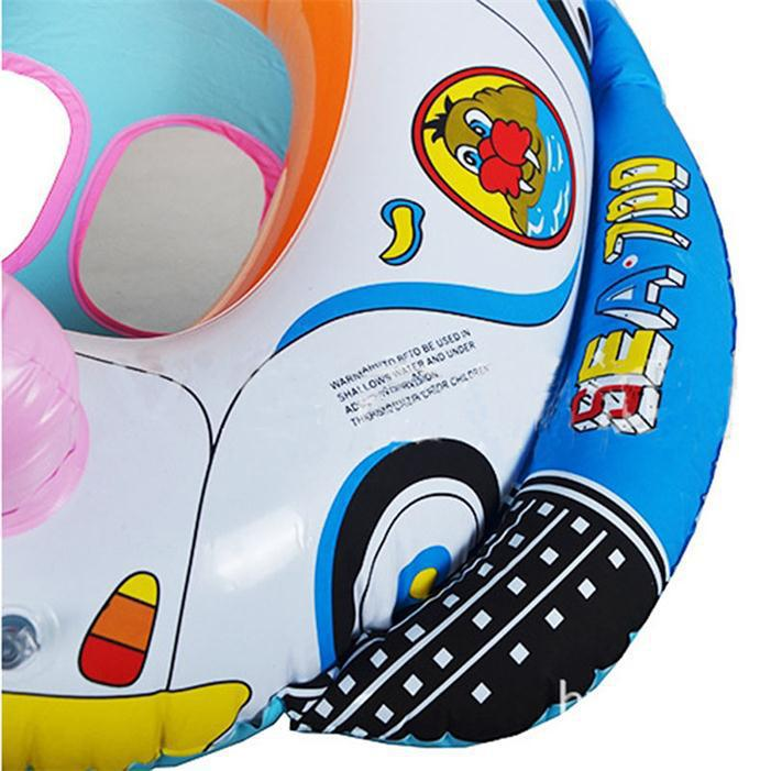 Cute Cartoon Baby Swimming Seat Ring Children Swim Water Sports Kids Inflatable Car Style Pool Float Boat In Accessories From Mother On
