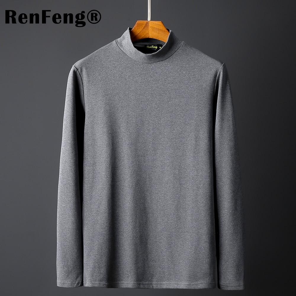 Thicken thermal undershirt underwear men's t-shirts roupas masculinas men winter Shirts man thermo underwear men warm plus size (3)