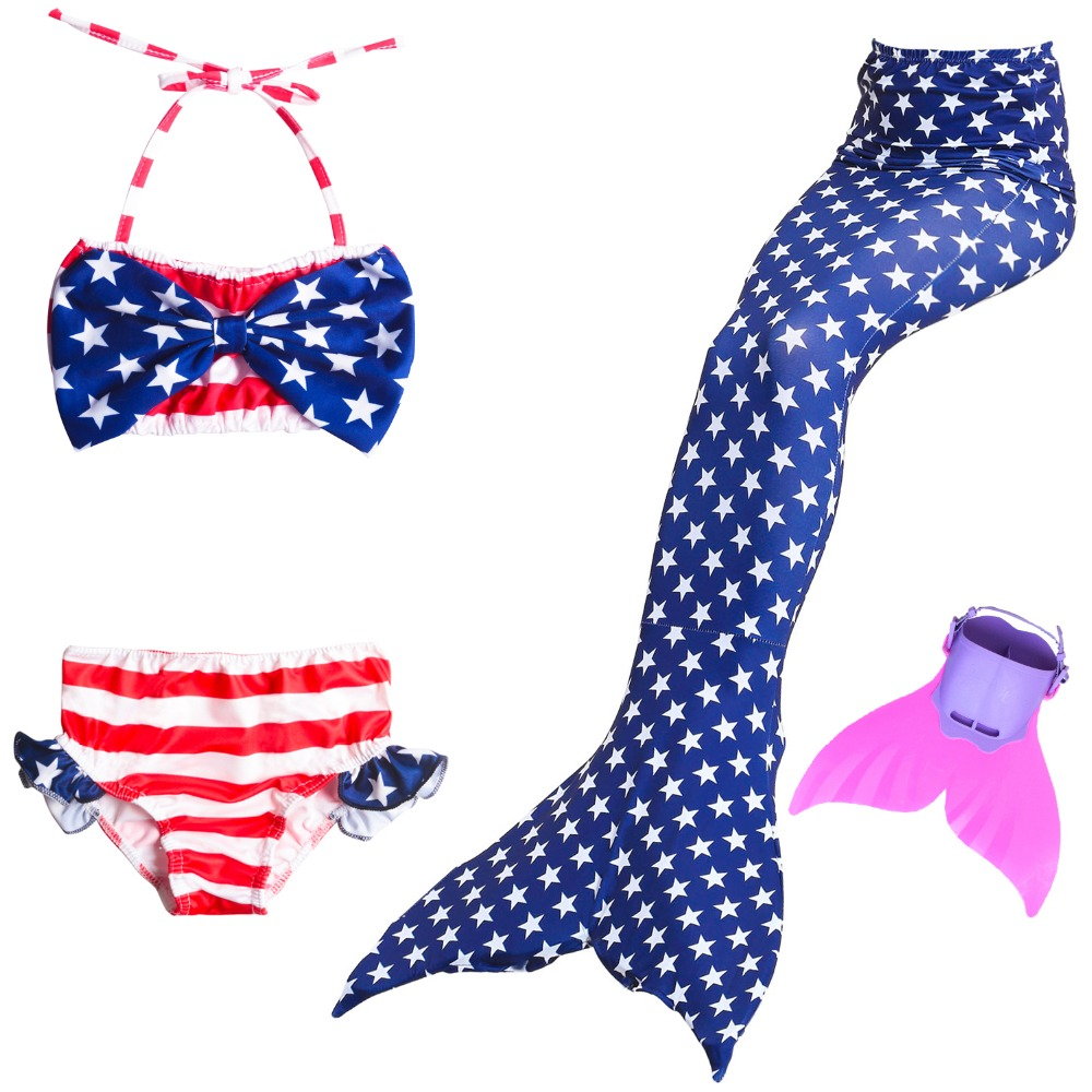 Little Swimming Mermaid Tails with Fin Costume Cosplay Children Mermaid Girls Skirts Dress Swimsuit Kids Swimmable Fairy Tail