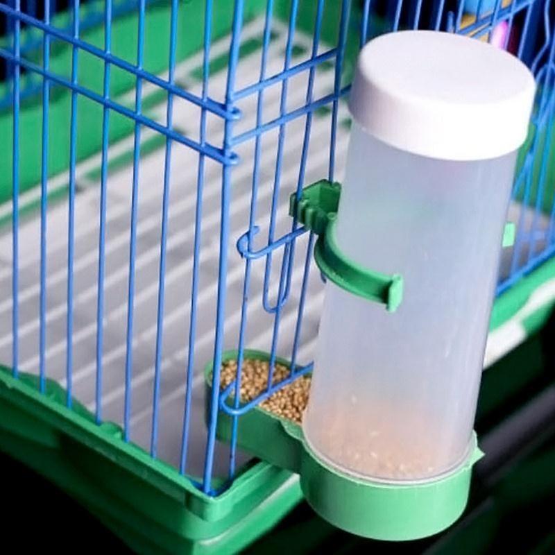 Useful Novelty Parrot Bird Automatic Feeder Feeding Food ...