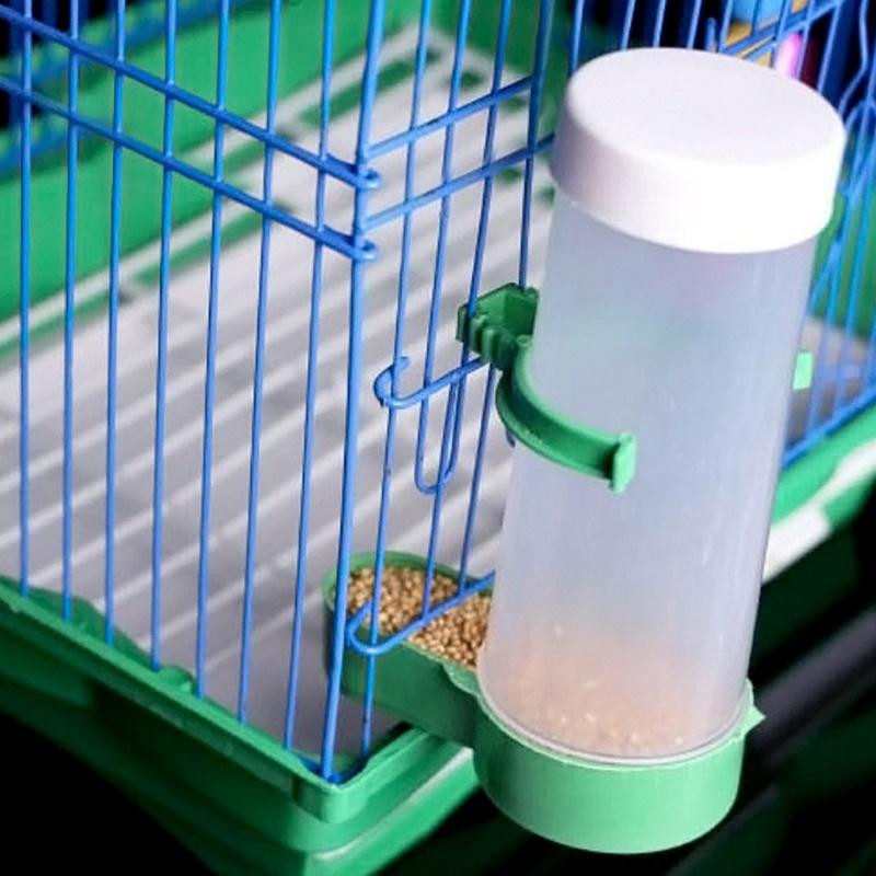 Useful font b Novelty b font Parrot Bird Automatic Feeder Feeding Food Water Drinking Birds For