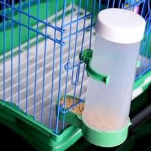 Useful Novelty Parrot Bird Automatic Feeder Feeding Food Water Drinking Birds For Aviary Budgie Peony Feeder