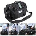 Сумка LAOA 15 дюймов с двойным слоем инструментов  водонепроницаемая сумка для ремонта электрика  сумка на плечо  сумка-Оксфорд  износостойкая ...