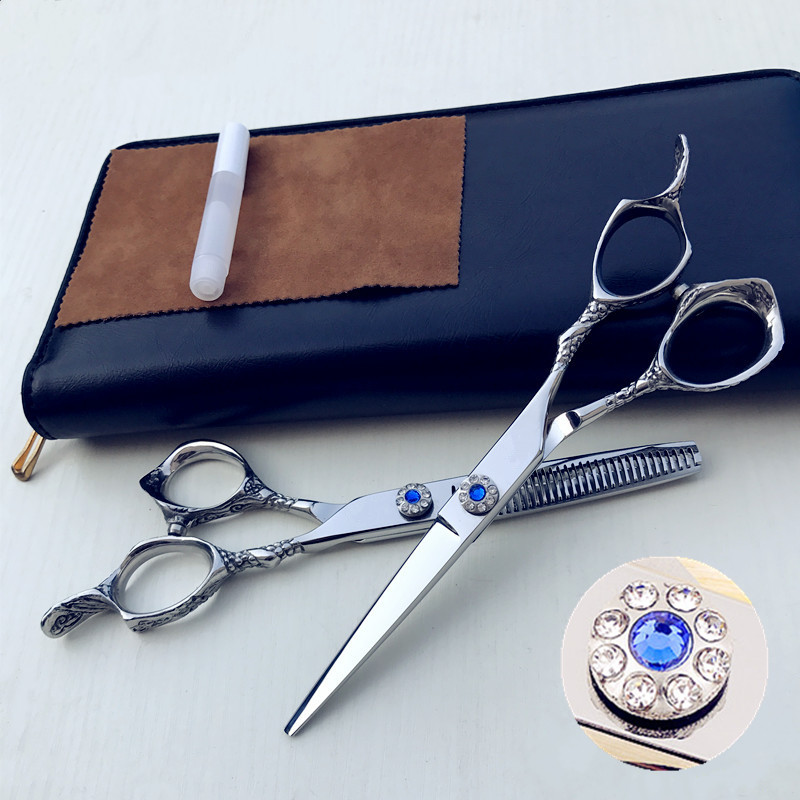 6 inches Beauty Salon Cutting Tools Barber Shop Hairdressing Scissors Styling Tools Professional Hairdressing Scissors Set